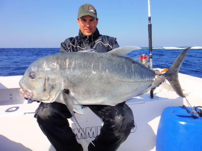 Mořský rybolov v jižním egyptě